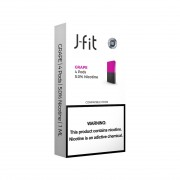 J FIT Pods for JUUL (4Pods-50MG) - Grape