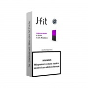 J FIT Pods for JUUL (4Pods-50MG) - Purple Berry