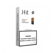 J FIT Pods for JUUL (4Pods-50MG) - Tobacco