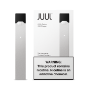 JUUL Vapor Basic Device Kit By Pax Labs - Silver