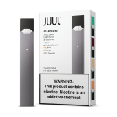 JUUL Vapor Starter Kit By Pax Labs (4 Pods included)