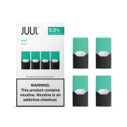 JUUL pods (4pods , 50mg) - Cool Mint