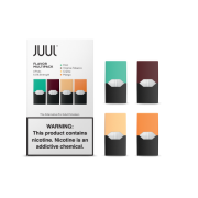 JUUL pods (4pods , 50mg) - Multi Pack (Virginia Tobacco, Mint, Mango, and Creme)