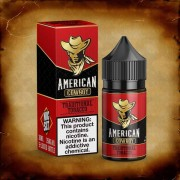 American Cowboy ( RED ) - SaltNic - by JuiceMan
