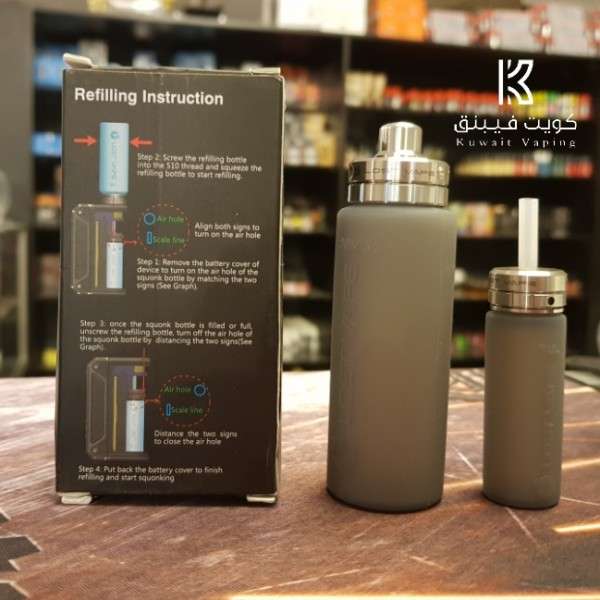 Replacement Squonk Bottle and Refill Bottle ( 30ml + 7ml
