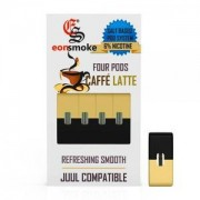 eonSmoke Pods for Juul (4Pods-60MG) - Caffe Latte