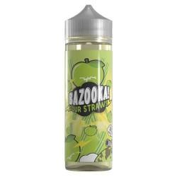 Green Apple Sour Straws by Bazooka