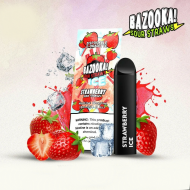Bazooka SOUR STRAWS Disposable Pods - STRAWBERRY ICE