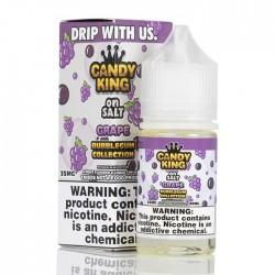 CandyKing - SaltNic - GRAPE BubbleGum (Expires 9-2020)