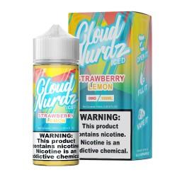 Cloud Nurdz - ICED - STRAWBERRY LEMON 100ml