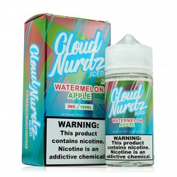 Cloud Nurdz - ICED - WATERMELON APPLE 100ml