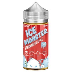 JAM MONSTER - ICE - STRAWMELON APPLE