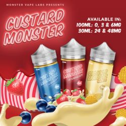 JAM MONSTER - BLUEBERRY Custard Monster