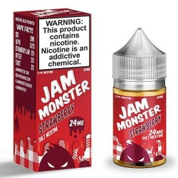 JAM MONSTER - SaltNic - STRAWBERRY