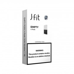 EMPTY J FIT Pods for JUUL (4Pods)