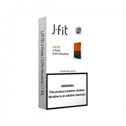 J FIT Pods for JUUL (4Pods-50MG) - Latte