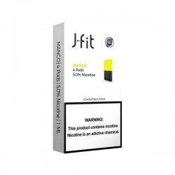 J FIT Pods for JUUL (4Pods-50MG) - MANGO