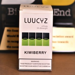 LUUCYZ Pods for JUUL (4Pods-30MG) - 6 Flavors
