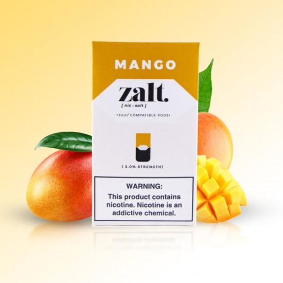 Zalt Pods for JUUL (4Pods-50MG) - Mango