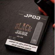 JPOD Disposable Pod ( 50mg - 3 Devices ) - BlackJack