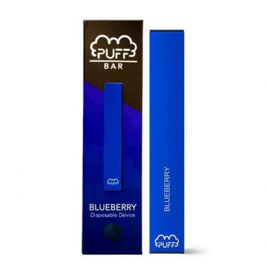 Puff Bar Disposable Pod Device - Blueberry