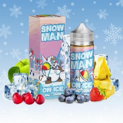 Snow Man On Ice by ZoNk! by JuiceMan