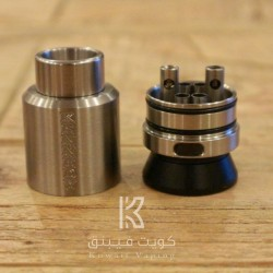 Kennedy 24mm RDA - SS (+1 Free Squonk Pin For 1st 50 Orders)