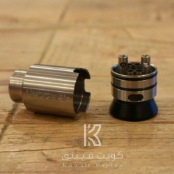 Kennedy 24mm TRICKSTER RDA - SS (+1 Free Squonk Pin For 1st 50 Orders)