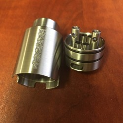 Kennedy 25mm TRICKSTER RDA - SS (+1 Free Squonk Pin For 1st 50 Orders)