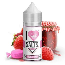 STRAWBERRY CANDY BY I LOVE SALTS BY MAD HATTER