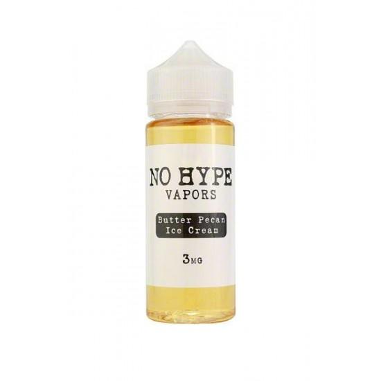 NO HYPE - Butter Pecan Ice-Cream - 120ml