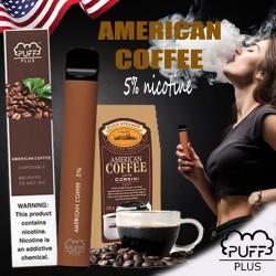Puff Bar Plus Disposable Pod Device (800puff) - American Coffee