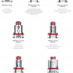 SMOK RPM 5 Replacement Coils Pack (DC 0.8Ohm MTL)