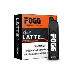 FOGG Disposable Pod Device (3pods) - Secret Sauce LATTE