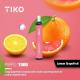 TIKO Disposable with Filter (1500puff-50mg) - Lemon GrapeFruit