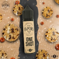 ONE SHOT by The Vapors Bar ( Milk , Cookies , Caramel )