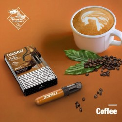 TUGBOAT V4 Disposable pod (500puff) 2pcs - COFFEE