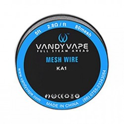 Kanthal A1 Mesh Wire by Vandy Vape