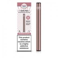 VapeDinnerLady Disposable Vape Pen (400Puffs) - Strawberry Macaroon