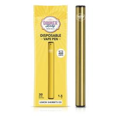 VapeDinnerLady Disposable Vape Pen (400Puffs) - Lemon Sherbets ICE