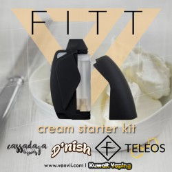 FITT Starter Kit by VapeEnvii + 4x3.2ml pre filled cartridges (flavors are VERY old)
