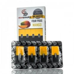 eonSmoke Pods for Juul (4Pods-60MG) - Mango