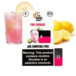 eonSmoke Pods for Juul (4Pods-60MG) - Pink Lemonade