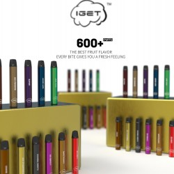 iGet Disposable Pod (600puff-60mg) - Classic Tobacco