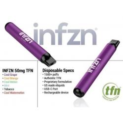 INFZN Disposable Vape (1500Puff-50mg) - Cool Mango