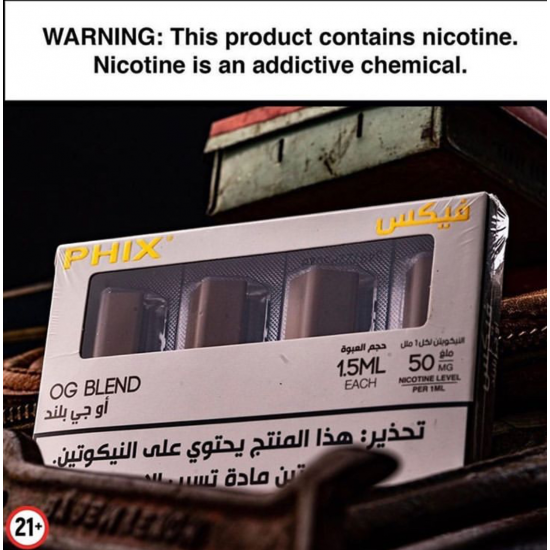 PHIX Pods - Original Tobacco