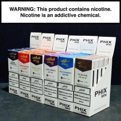 PHIX Mini - Blue Raspberry (3 Disposable Devices/Pack)