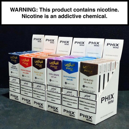 PHIX Mini - Hawaii Dream (3 Disposable Devices/Pack)