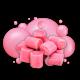 SINBAD SPARK XL BadBoy Disposable (50mg,3000Puff) - BUBBLE GUM
